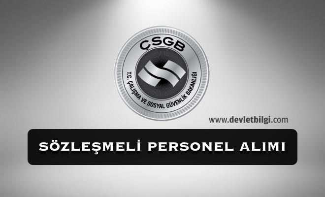 ÇSGB Bilişim Personeli Alımı