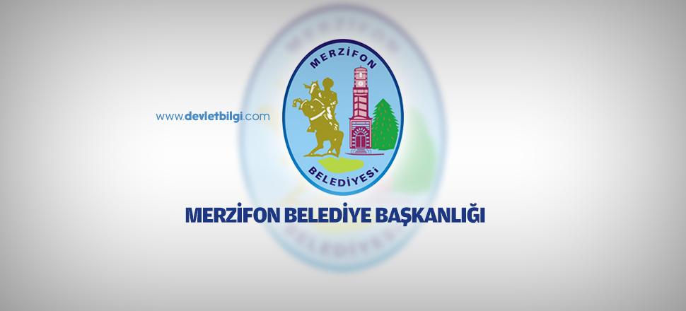 Merzifon Belediyesi İşçi Alımı İlanı