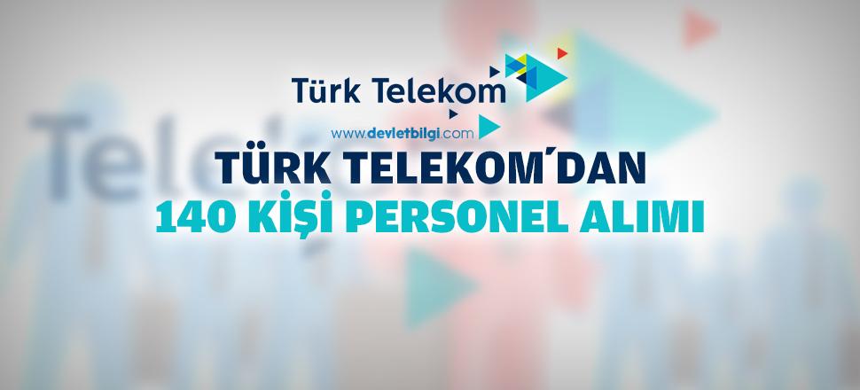 Türk Telekom 140 Personel Alımı 2016
