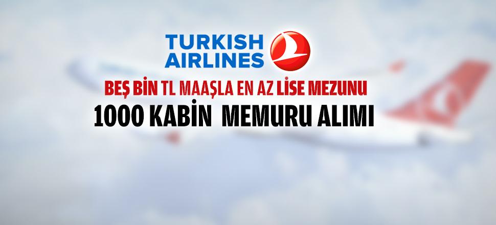 Türk Hava Yolları THY Memur Personel Alımı 2016