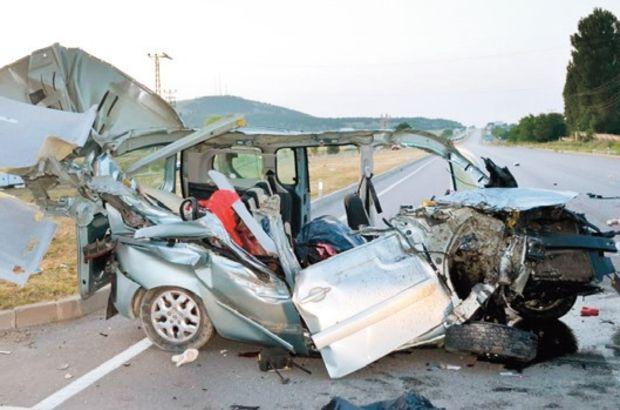 Amasya'da trafik kazası! Aynı aileden 3 kişi öldü