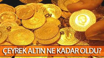 Altın fiyatlarında son gelişmeler.. İşte çeyrek altın ve gram altın fiyatları