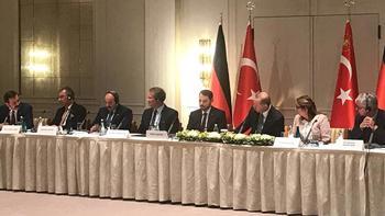 Cumhurbaşkanı Erdoğan Alman ekonomisinin önemli isimlerini kabul etti