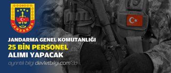 2019 Jandarma Uzman Erbaş Olarak 25 Bin Kişi Alacak!