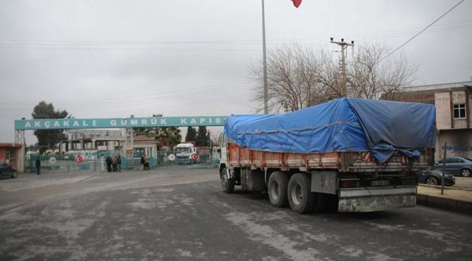 7 yıldır kapalı olan Akçakale Gümrük kapısı açıldı