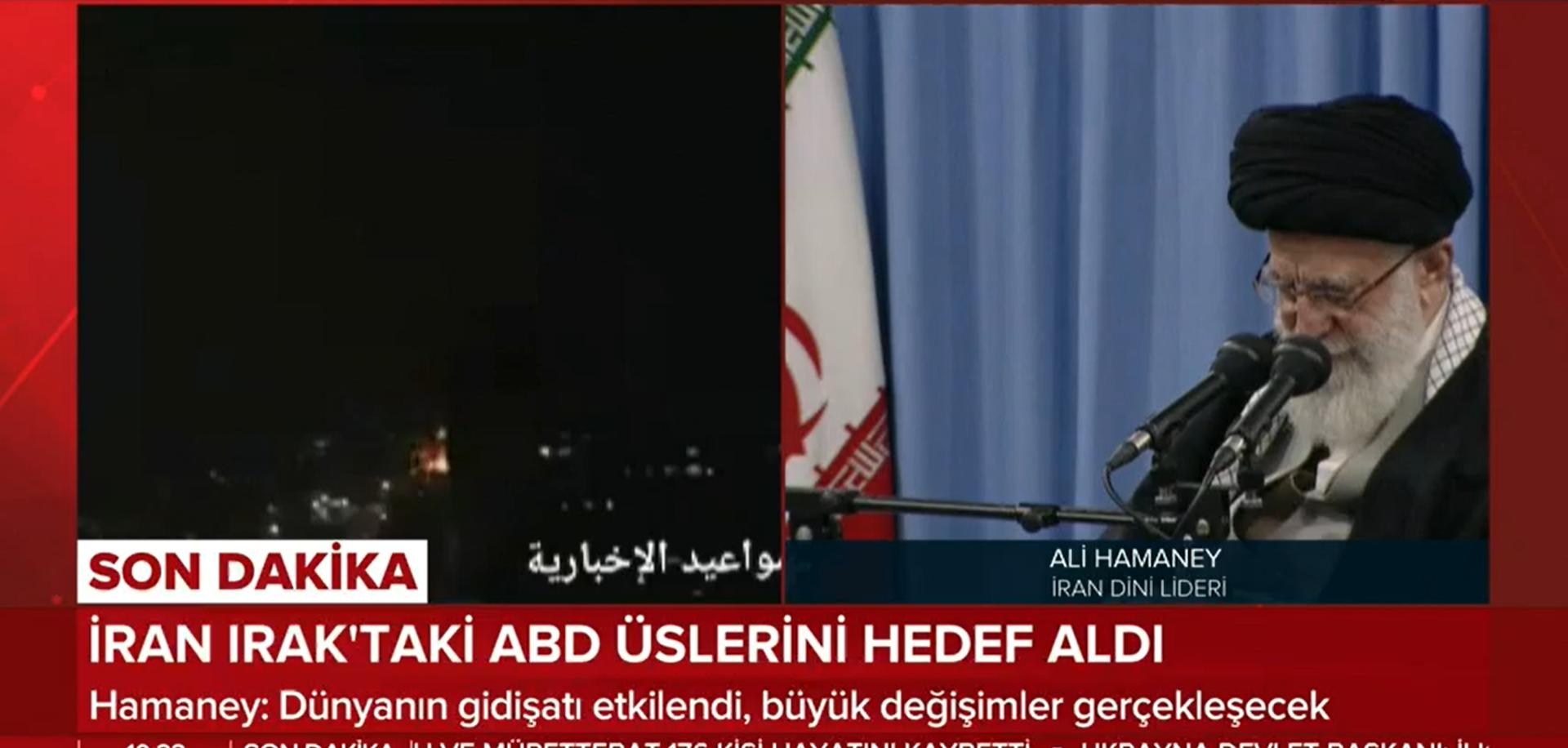 İran Dini Lideri Hameney açıklama yapıyor! Canlı!!
