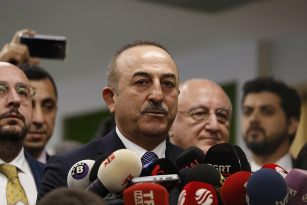 Dışişleri Bakanı Mevlüt Çavuşoğlu, BM Genel Sekreteri Guterres ile Süleymani, Suriye ve Libya konularını görüştü